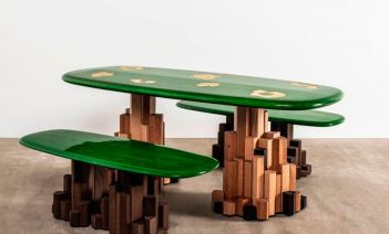 Las 9 piezas resultantes de Connected: un proyecto de creación digital entre interioristas
