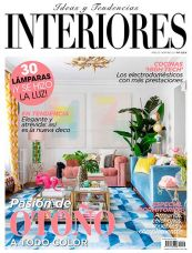 Portada revista interiores número octubre