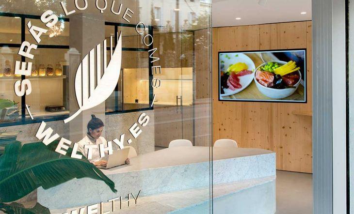 Welthy: un espacio moderno, elegante y pulcro dedicado a la alimentación saludable