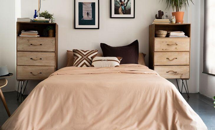 Imagen de la nueva colección de ropa para el hogar de La Mallorquina