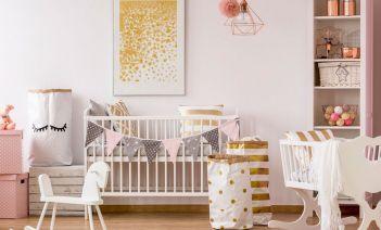 7 colores para pintar la habitación del bebé
