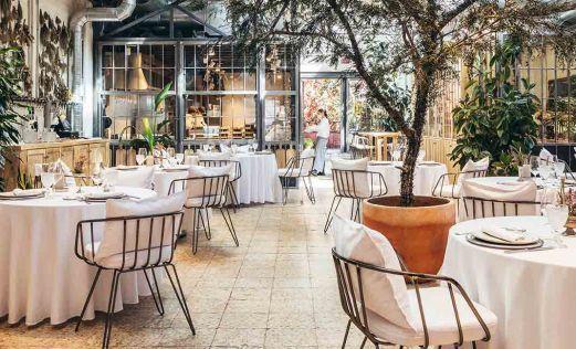 Ovillo un restaurante open space de carácter optimista y alegre