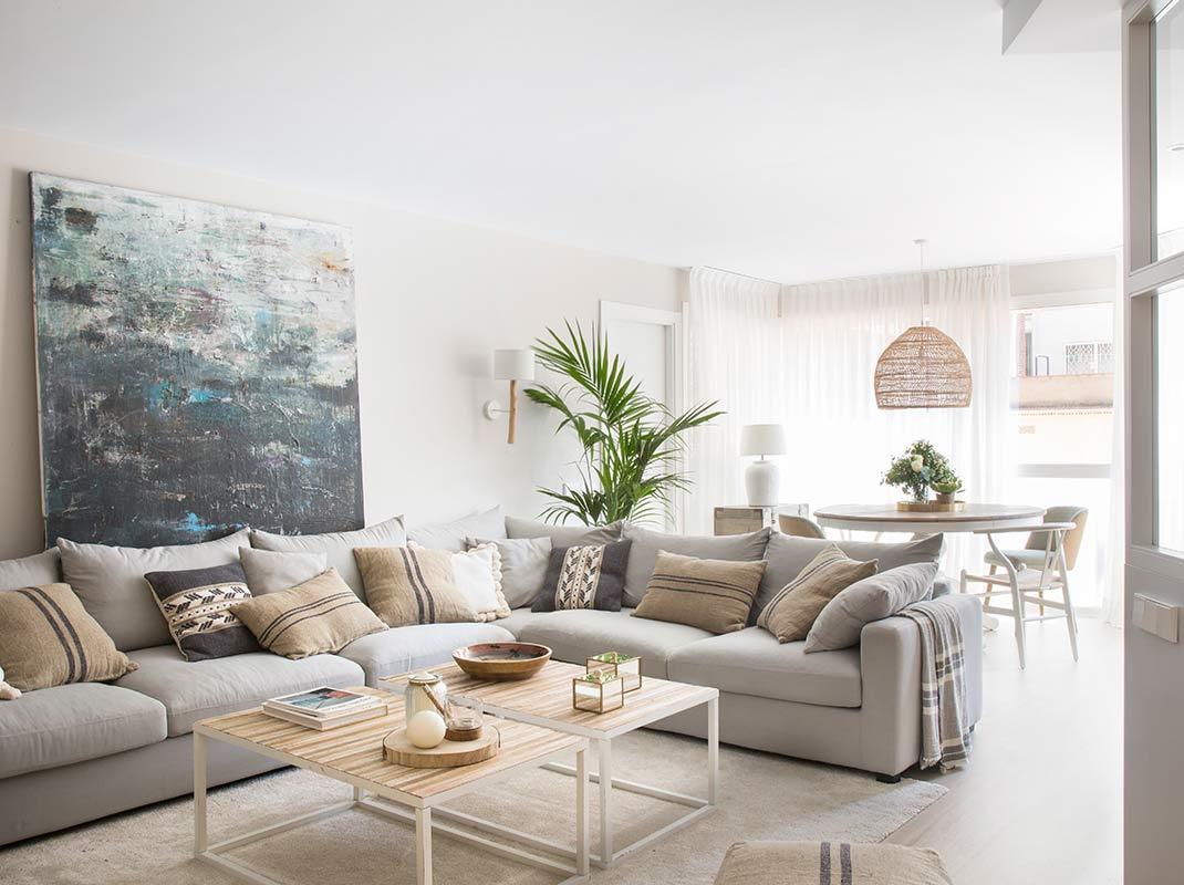 La reforma de un piso en Sant Gervasi que ahora luce amplio y luminoso