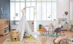 Los tipis, nueva tendencia para las habitaciones infantiles
