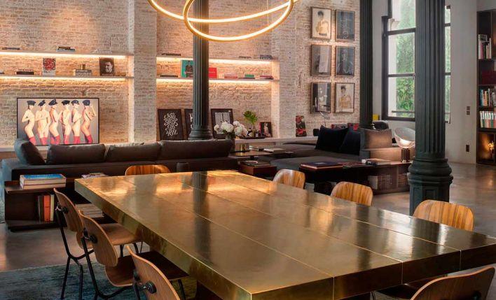 Kirsten Schwalgien Design convierte una icónica joya modernista en un loft residencial