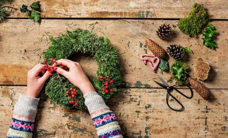 Las manualidades DIY más populares para que decores tu casa esta Navidad