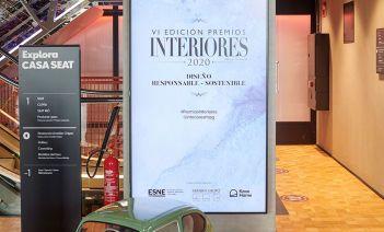 Hall de entrada de Casa Seat, sede de la entrega de los VI Premios Interiores