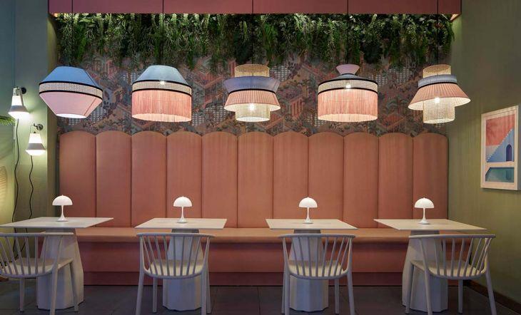 Una cervecería rosa: así es la primera terraza Bierwinkel Experience de España
