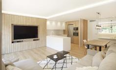 La Cala, reforma en madera y tonos blancos