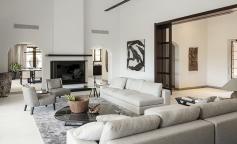 Casa de agosto, sobriedad y lujo italiano