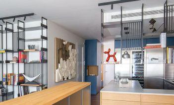 Arte y materia en una casa muy contemporánea del Eixample barcelonés