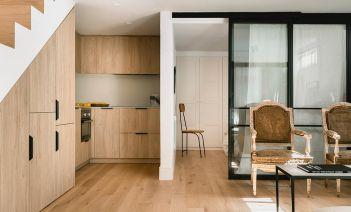 La reforma de un sótano madrileño que destaca por su elegancia y luminosidad