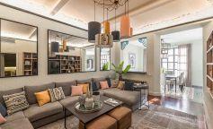 Interiorismo de lujo en una vivienda de Paseo de Gracia