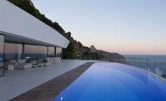 Así son las vistas al mar que brinda 'Casa Curva' en Altea