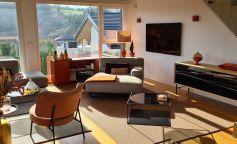 Calidez y luminosidad en una vivienda de la costa vasca