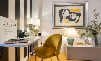 Decoración funcional, cómoda y cálida en un piso de Las Rozas