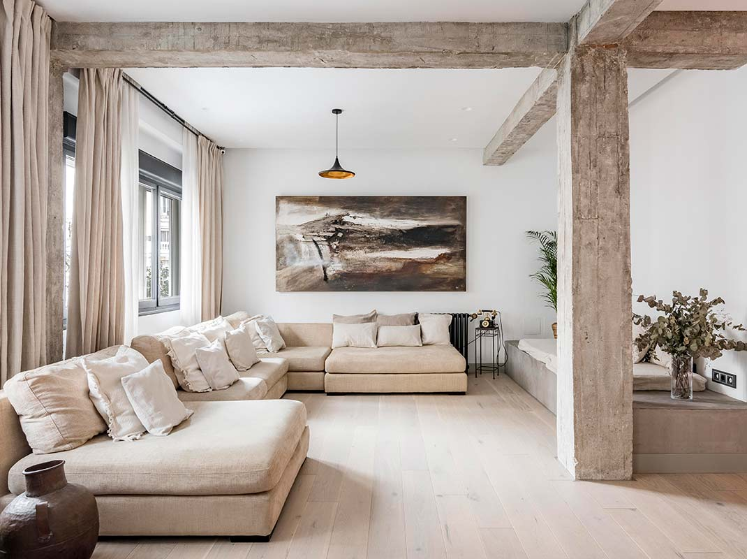 Una vivienda exótica, confortable y cálida con reminiscencias de Oriente Medio