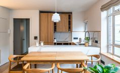 Diseño amplio y luminoso en un apartamento en el centro de Londres