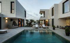 Confort y amplitud con inspiración mediterránea en una vivienda modular