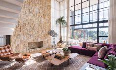 Decoración creativa, versátil y original en el interior de una casa en São Paulo