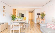 Reforma integral de un piso, luminosidad, amplitud y toques románticos