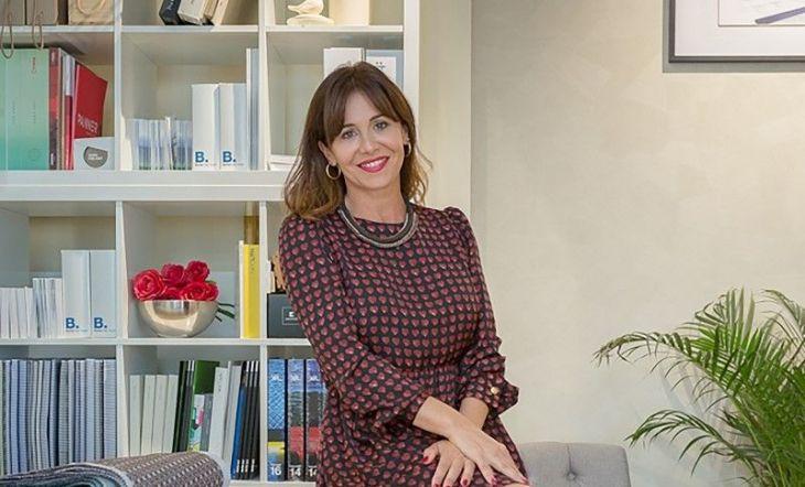 Raquel Simón, interiorista, fundadora y CEO de la Escuela Madrileña de Decoración