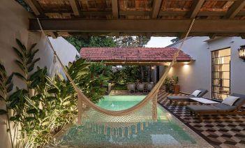 El ambiente tropical y caribeño de 'Casa Reforma': una gran villa situada en Yucatán