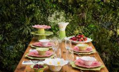 La primavera se sienta a la mesa
