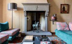 Eclecticismo y diseño italiano en una vivienda en el centro de Florencia