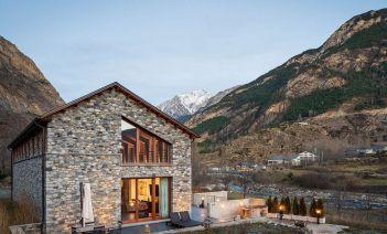 'Casa Monago', vivienda sostenible y adaptada al entorno del Pirineo Aragonés