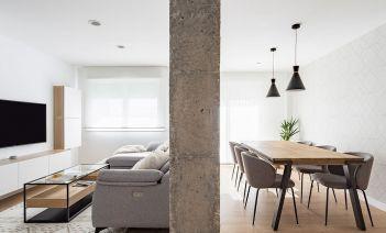 Proyecto Balea, estilo nórdico con toques urbanos en Pontevedra