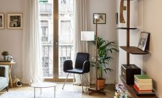 Elementos estructurales protagonistas en la reforma de un piso del Eixample