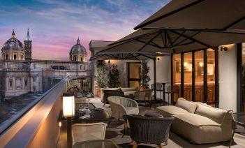 Un hotel fresco, dinámico y natural en el corazón de Roma