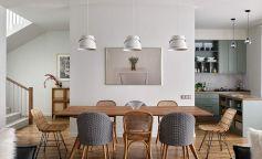 Ambiente ligero y luminoso en una vivienda familiar en Moscú