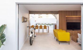 Exterior e interior se complementan en la 'Casa Soroa' de Tenerife