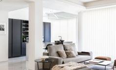 Inspiración urbanita en esta vivienda ubicada en la madrileña calle O'Donnell
