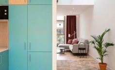 Un garaje que se convierte en una cálida vivienda en Mahón