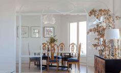 Oficina reconvertida en una vivienda ecléctica en el centro de Madrid