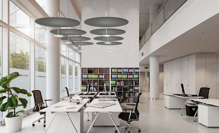 Cómo mejorar la acústica en las oficinas