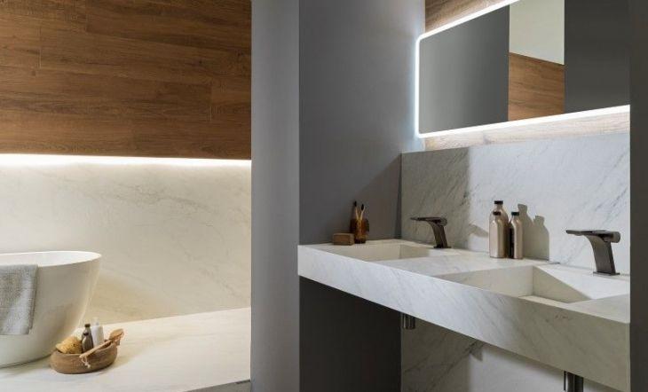 Encimera + grifería OXO y bañera Lounge