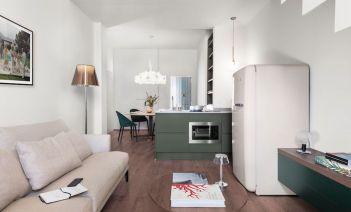 Elegancia y estilo contemporáneo en un apartamento en Florencia