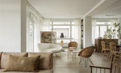 Antigüedades, obras de arte y luz protagonizan el interiorismo de esta vivienda en Madrid