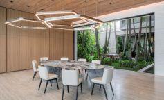 El exotismo más acogedor en una villa de Miami