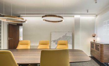 Alma y calidez en el diseño interior de este despacho de abogados en Valencia