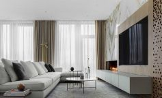 Un apartamento en Moscú que derrocha modernidad y sofisticación