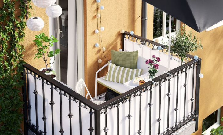 Convierte tu balcón en un pequeño oasis urbano