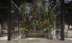 Un pulmón urbano que juega con las emociones en la nueva concept store de Dareels