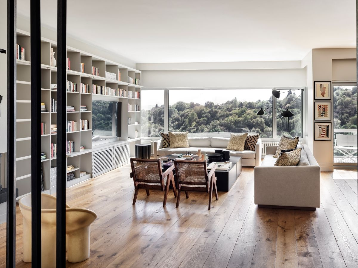Vistas panorámicas desde 'Etiler House', una elegante residencia en el corazón de Estambul