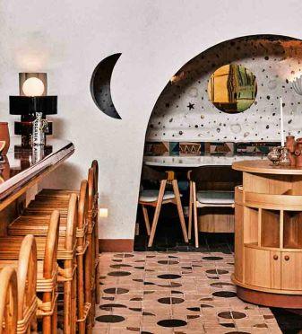 Colores vivos de Oriente Medio en Sabbaba Montesol, la nueva sensación de Ibiza
