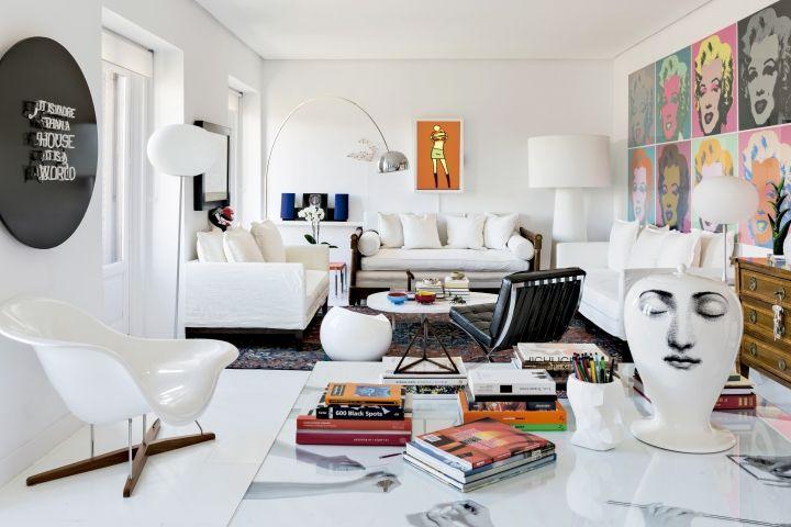 Apartamento madrileño de Teresa Sapey